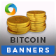 Crypto Currency HTML5 Banners - 7 Sizes