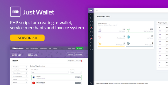 Just Wallet - Online Payment Gateway - CodeCanyon Item for Sale