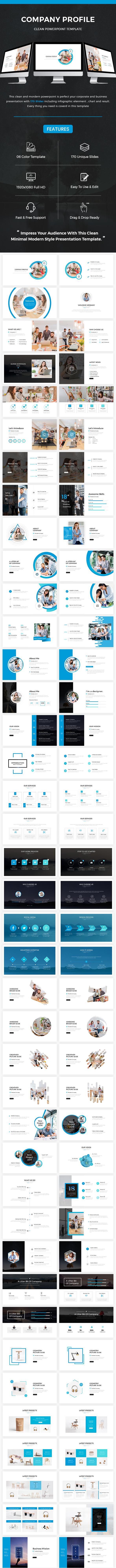 Company Profile Keynote Template 2018 - Business Keynote Templates