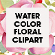 Watercolor Floral Clipart - GraphicRiver Item for Sale
