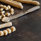 Making whole wheat flour pasta orecchiette - PhotoDune Item for Sale