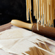 Making tagliolini pasta alla chitarra with a tool - PhotoDune Item for Sale