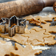 Cooking Christmas cookies with  cookie cutters - PhotoDune Item for Sale