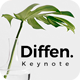 Diffen Keynote Template - GraphicRiver Item for Sale