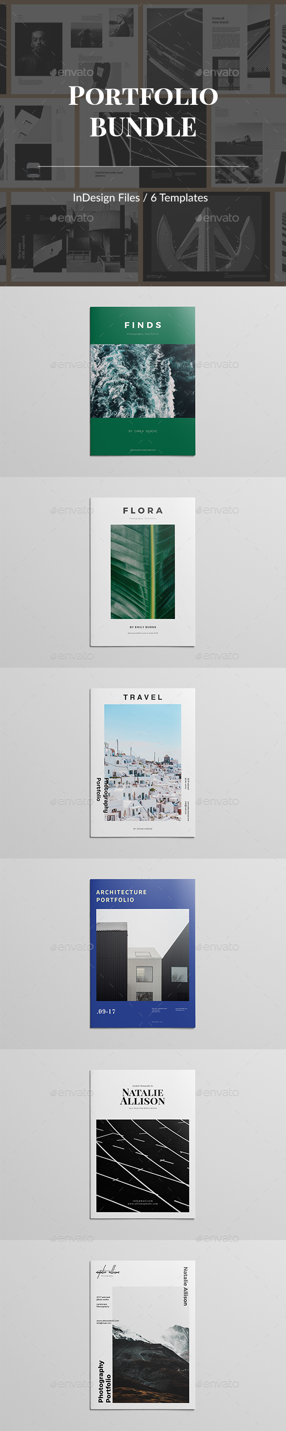 Portfolio Bundle - Portfolio Brochures