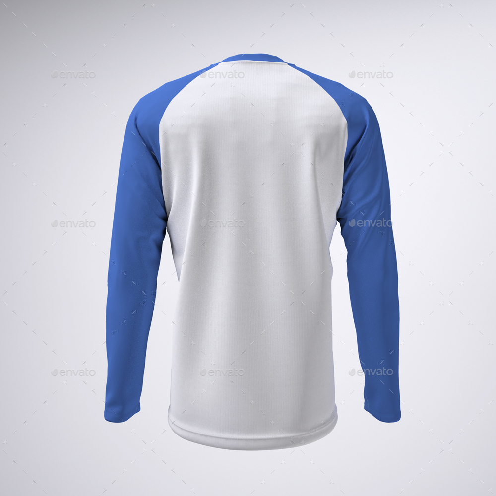 Long Sleeve Raglan Or Baseball T Shirt Mock Up By Sanchi477