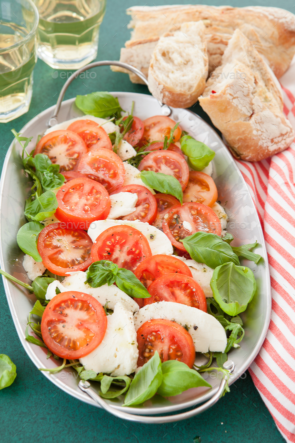 Colorful summer salad - Stock Photo - Images