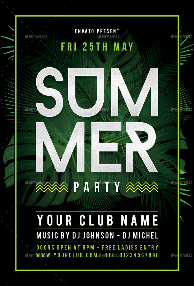 summer flyer by sunilpatilin graphicriver