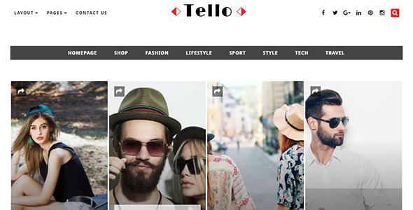 Tello - WordPress Magazine/Blog Theme
