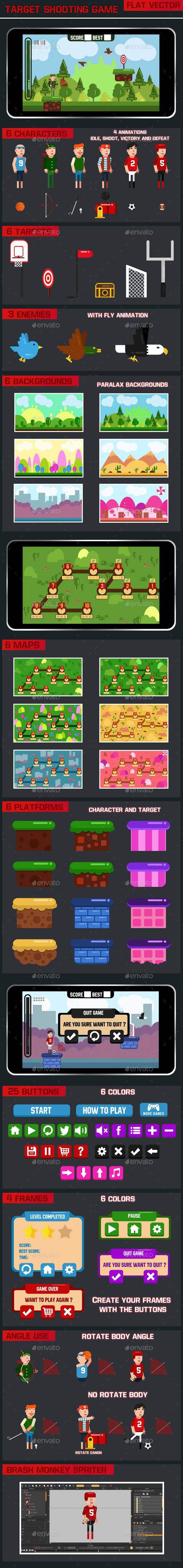 Target Shooting Game - Game Kits Game Assets