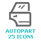 Garage & Auto Part Mini Icon - GraphicRiver Item for Sale