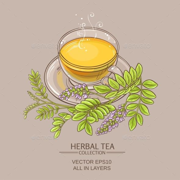 Cup of Licorice Tea - Health/Medicine Conceptual