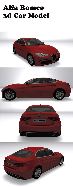 Alfa Romeo - 3DOcean Item for Sale