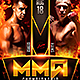 MMA Fight Flyer - GraphicRiver Item for Sale