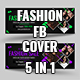 Fashion Facebook Time Line Cover ( 5 in 1 )