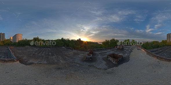 HDRI Rooftop dawn - 3DOcean Item for Sale