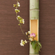 Japanese flower arrangement in bamboo - PhotoDune Item for Sale