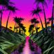Palms Landscape - VideoHive Item for Sale