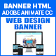 Web Design Banner HTML5 - 7 Sizes (Animate CC) - CodeCanyon Item for Sale