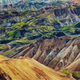Landscape detail view of Landmannalaugar colorful volcanic mountains - PhotoDune Item for Sale