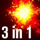 Fire Cartoon Loop - VideoHive Item for Sale