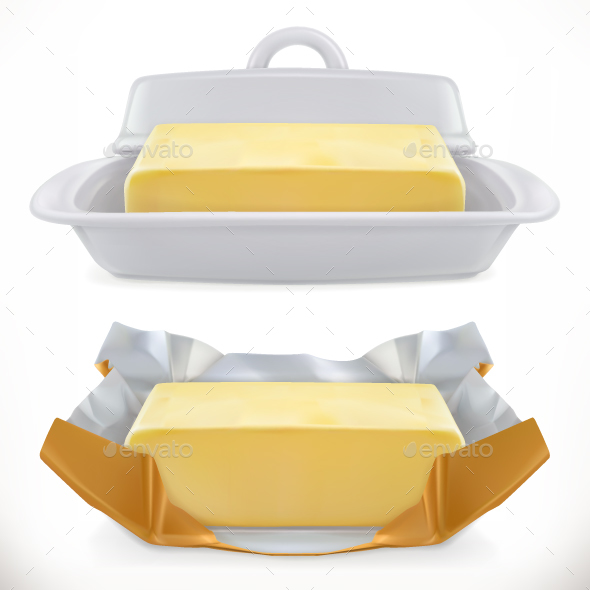 Butter - Food Objects