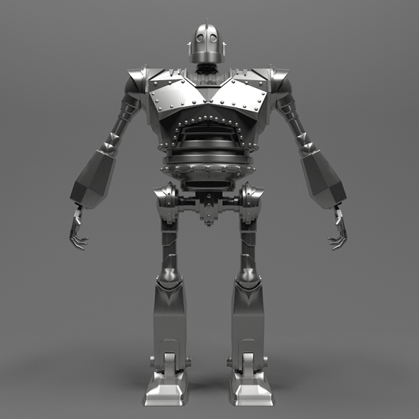 Iron Giant robot model - 3DOcean Item for Sale