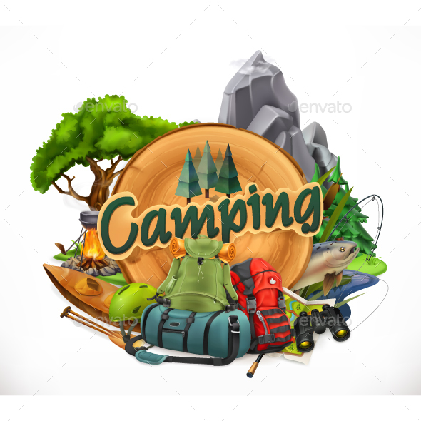 Camping - Sports/Activity Conceptual
