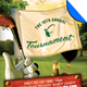 Golf Tournament Event Flyer Template - GraphicRiver Item for Sale