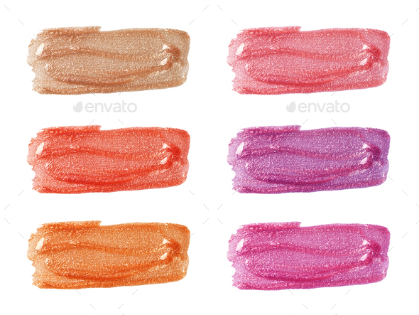 Lip glosses - Stock Photo - Images
