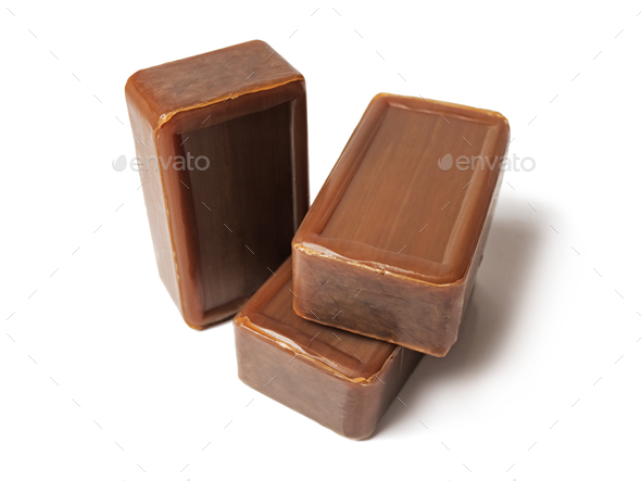 Tar soap - Stock Photo - Images