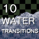 10 Realistic Water Wave Transitions - VideoHive Item for Sale