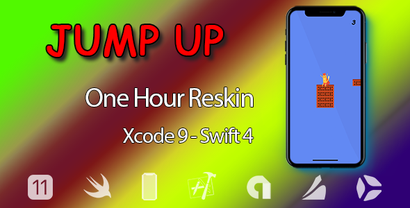 Jump Up -  – One Hour Reskin, IOS 11, Swift 4 Ready - CodeCanyon Item for Sale