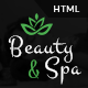 Beauty & Spa | Health Bootstrap HTML Template - ThemeForest Item for Sale
