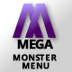 Mega Monster Menu Plugin for WordPress