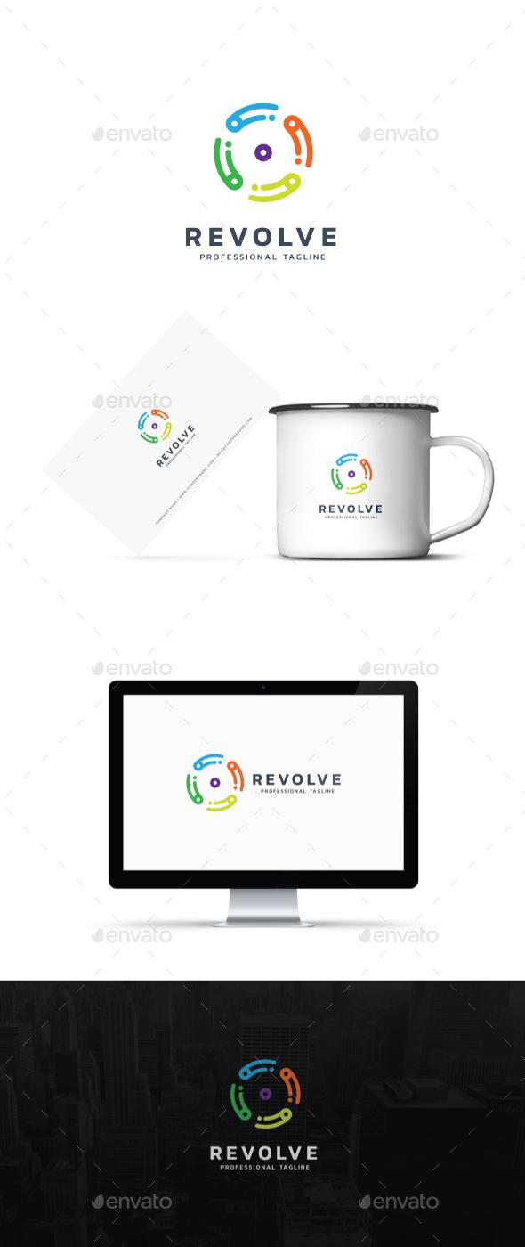 Revolve Logo - Symbols Logo Templates