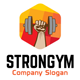 Strong Gym Logo - GraphicRiver Item for Sale
