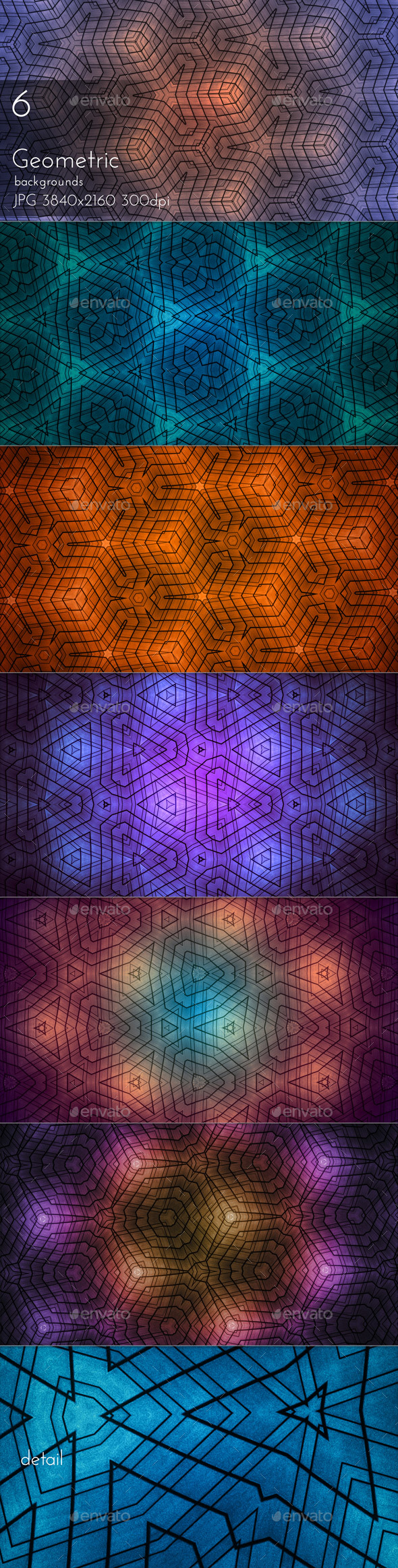 Geometric Background - Patterns Backgrounds