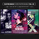 Electro Music Flyer Bundle Vol 49 - GraphicRiver Item for Sale