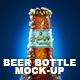 Beer Bottle Mockup - GraphicRiver Item for Sale