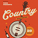 Country Music Flyer - GraphicRiver Item for Sale
