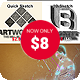 Sketch Bundle 3 in 1 - GraphicRiver Item for Sale