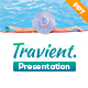 Travient Hotel & Travel Agency PowerPoint Template - GraphicRiver Item for Sale