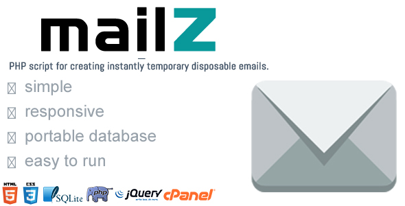 MailZ - Simple Disposable Temporary Email - CodeCanyon Item for Sale