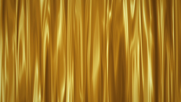 Golden Curtain Screen Background By VF