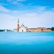Venice lagoon, San Giorgio church. Italy. Long exposure - PhotoDune Item for Sale