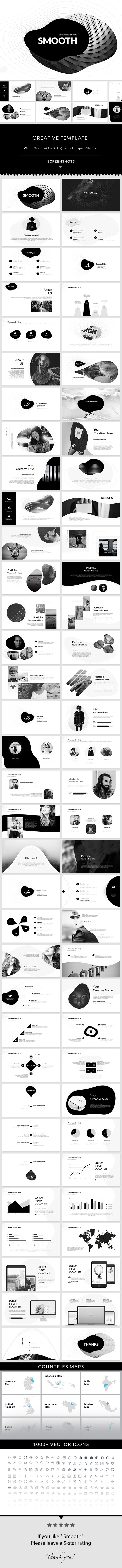 Smooth - PowerPoint Presentation Template - Creative PowerPoint Templates