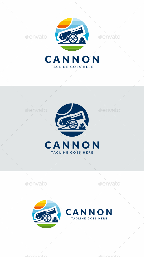 Cannon - Objects Logo Templates