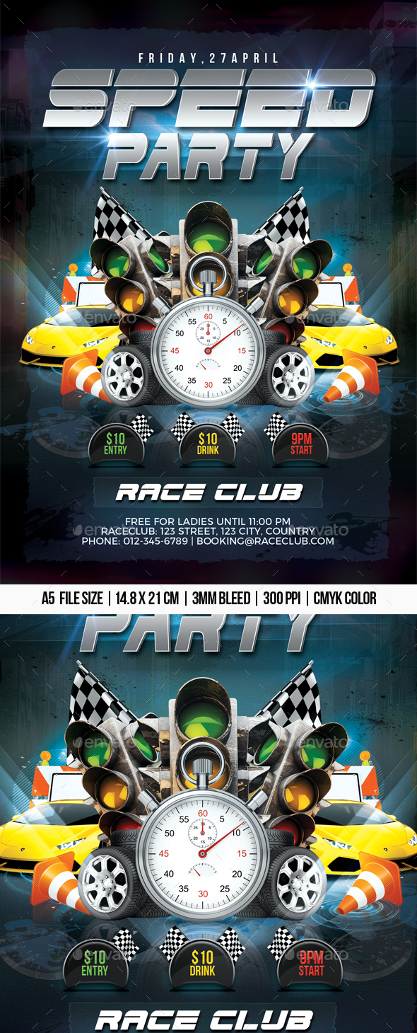 Speed Party - Clubs & Parties Events