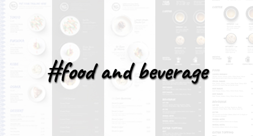Restaurant, Cafe, Coffee Shop, Food Truck Menu Design